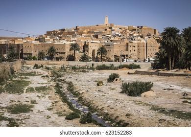 Bounoura ancient town, Ghardaia Province, M'Zab Valley, Algeria