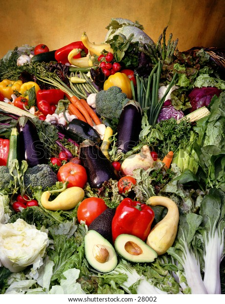 Bounty of vegtables of all kinds