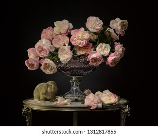 Bouqeut of victorian roses