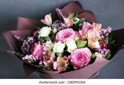A bouquet (composition) of flowers