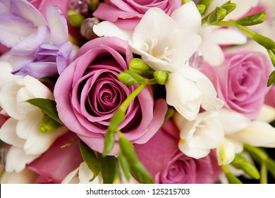 bouquet of flowers as background