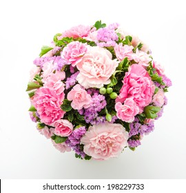 Bouquet isolated on white