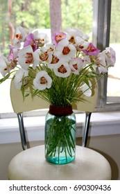 Bouquet of Mariposa Lilies