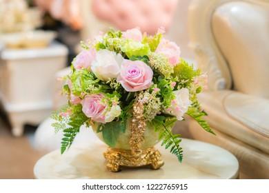 Bouquet  roses flower decor
