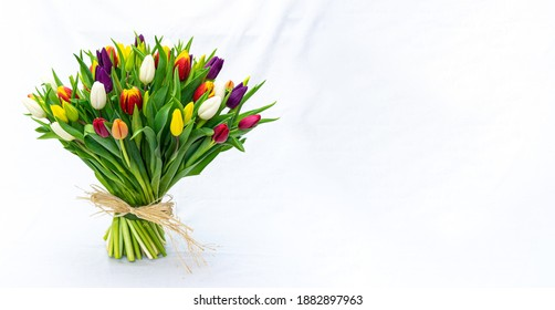 bouquet of tulips for you