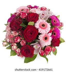 Bouquet with various flowers