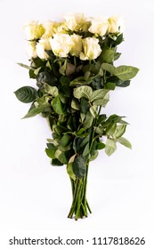 A bouquet from white roses