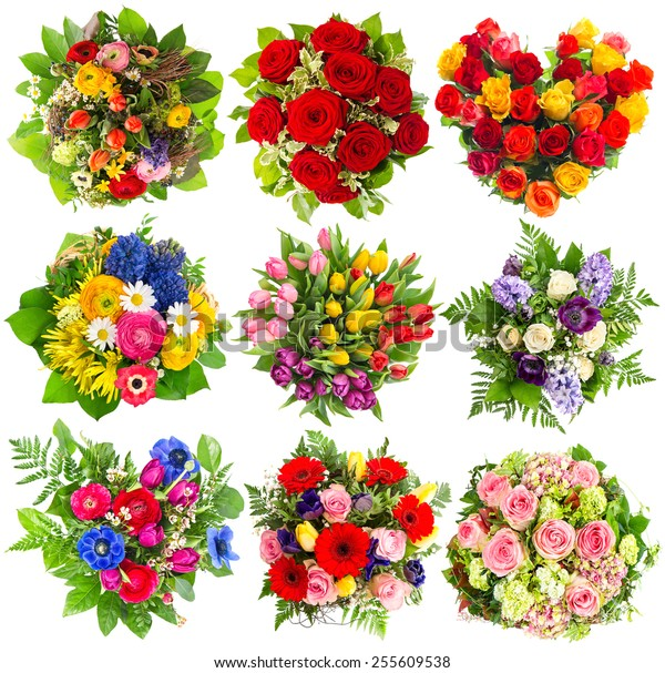 Bouquets of colorful flowers for Birthday, Wedding, Mothers Day, Easter, Holidays, Life Events