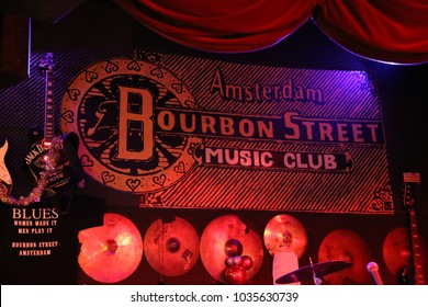 Bourbon Street Music Club in Amsterdam, December 2017