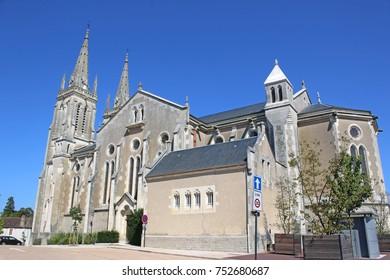 Bourbon-Lancy Church, France
