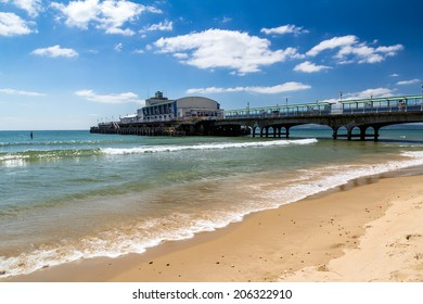 Bournemouth Beach and Pier Dorset England UK Europe