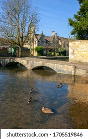 Bourton on the Water village, Cotswolds, Gloucestershire, England