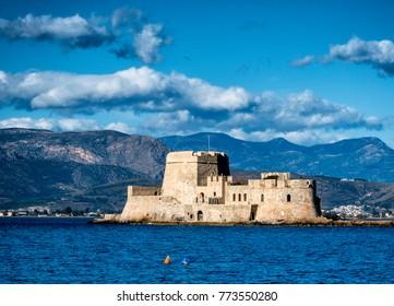 Bourtzi fortress , Nafplion - Greece