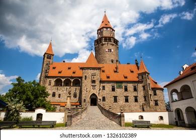 Bouzov Castle Czech Republich