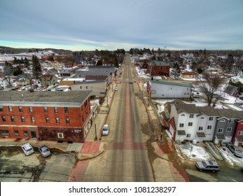 Bovey, Minnesota is a small Community on the Iron Range of Minnesota in Winter