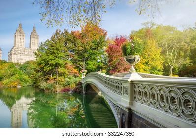 The Bow Bridge in Central Park