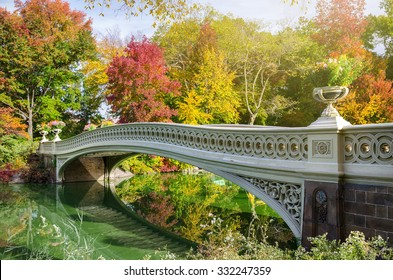 The Bow Bridge in Central Park