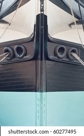 Bow of the Historic Sailing Ship USS Constellation