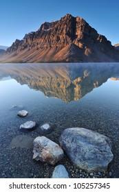 Bow Lake, Banff National Park in Alberta