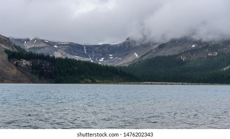 Bow Lake in Banff National Park, Alberta