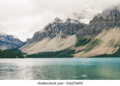 Bow Lake Banff National Park Alberta Canada
