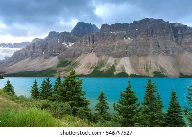 Bow Lake, Banff, Rocky Mountain, Canada