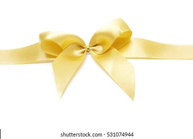 bow on white background