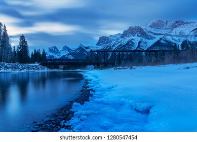 Bow River at Canmore, Canada