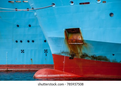 Bow of a ship