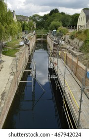 Bowbridge Lock nearing end of restoration