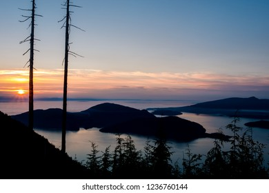 Bowen Island and Sunshine Coast from Bowen Lookout, Cypress Provincial Park - West Vancouver, BC