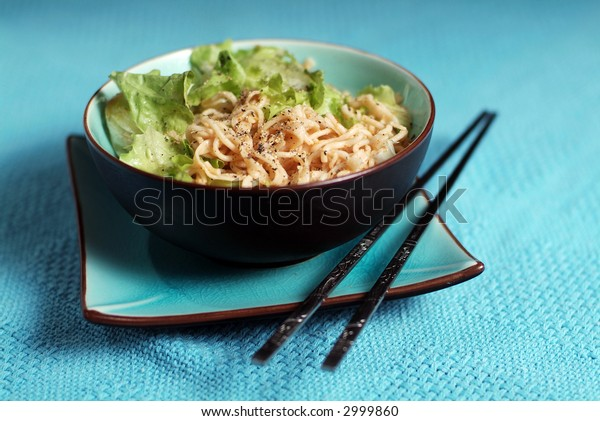 Bowl of asian noodles