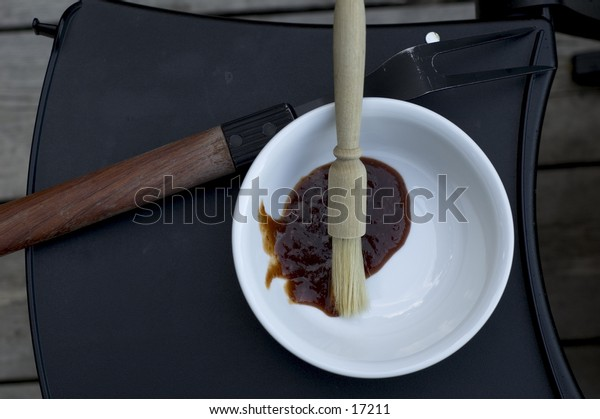 Bowl of Barbeque Sauce