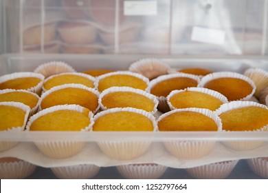 Bowl cake, traditional sweet from Pernambuco, northeastern Brazil.