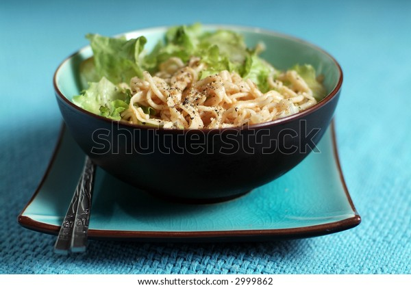 Bowl of chinese noodles