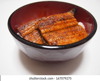 bowl of eel and rice [unadon]