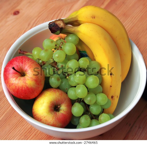 A bowl of Fresh Fruits. Concept: Healthy Eating