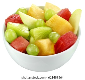 BOWL OF FRUIT SALAD CUT OUT