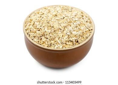 bowl full of oats