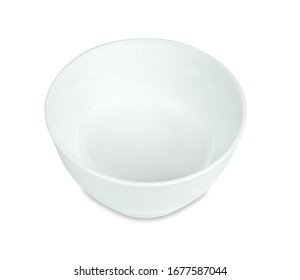 bowl isolated on white background ,include clipping path