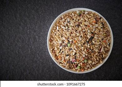Bowl of multigrain rice