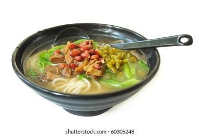 Bowl of noodles
