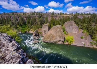 Bowl and Pitcher Trail, Spokane area, East Washington