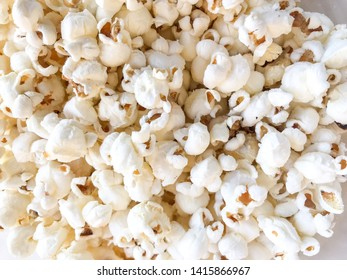 bowl of popcorn with sugar and salt