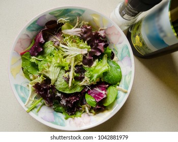 bowl with a salad mix