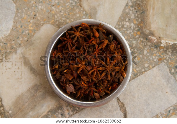 Bowl of star anise