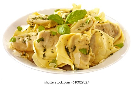 BOWL OF TORTELLINI CUT OUT