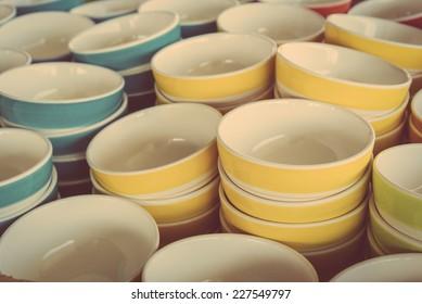 Bowl - vintage effect pictures