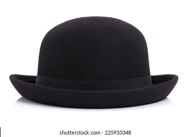 Bowler hat isolated on white background