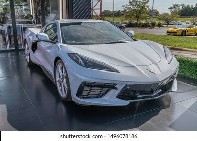 Bowling Green, KY - August 30, 2019  Images captured at the 25th Anniversary National Caravan where the new C8 2020 Corvette Stingray was on display.
